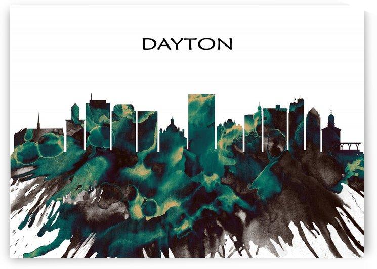 Dayton Skyline by Towseef Dar