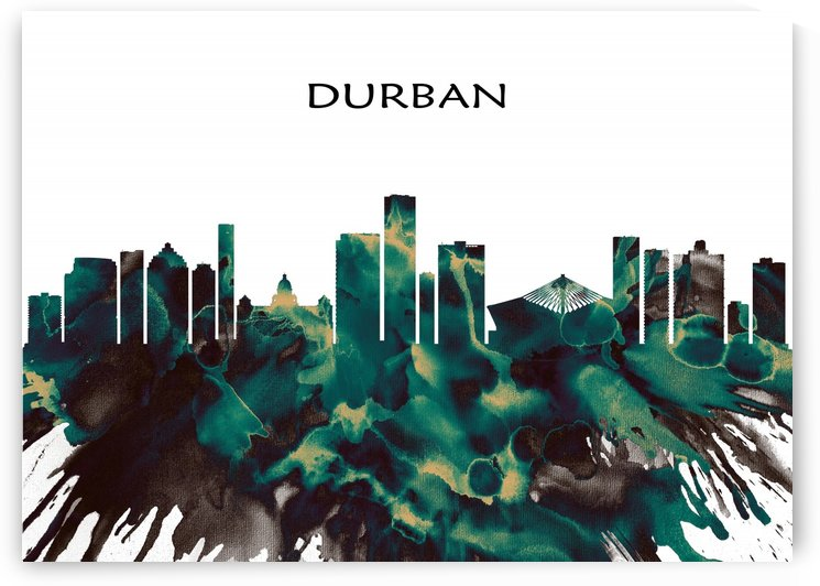 Durban Skyline by Towseef