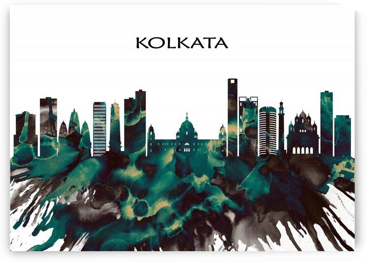 Kolkata Skyline by Towseef