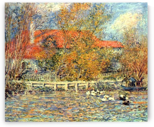 Duck pond by
