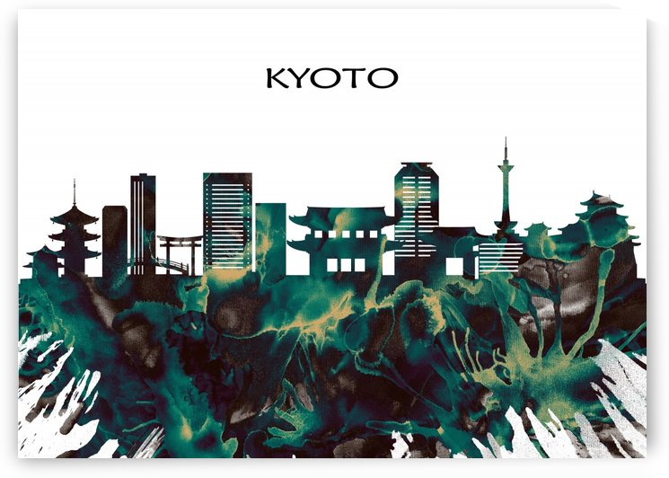 Kyoto Skyline by Towseef