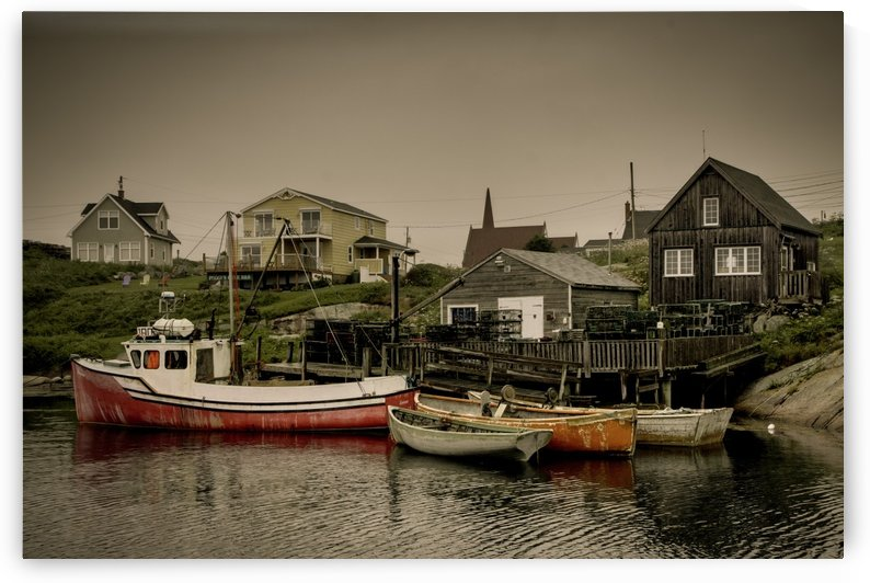 Kevin Pipher Photography - Fishing Village by Kevin Pipher