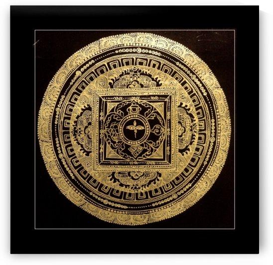 Nepali Goldwork: Buddha Eyes by Adi