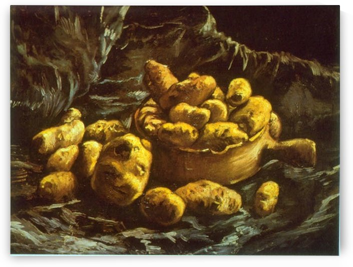 Earthen Bowls by Van Gogh by Van Gogh