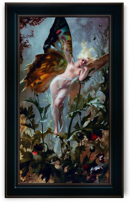 The Poppy Fairy by Luis Ricardo Falero Fine Art Reproduction by xzendor7