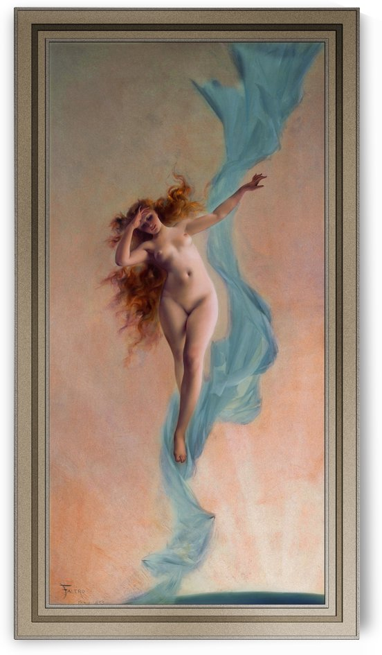 Dawn by Luis Ricardo Falero Old Masters Fine Art Reproductions by xzendor7