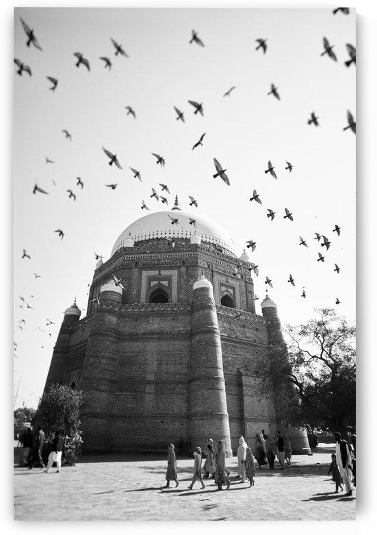 The Tomb of Shah Rukn-e-Alam in Multan Pakistan by Pavel Gospodinov