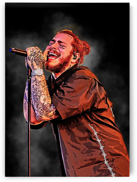 Post Malone Live Concert by Gunawan Rb