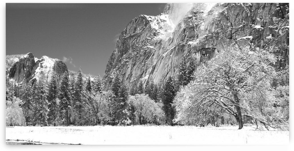 Yosemite in Winter by DRM