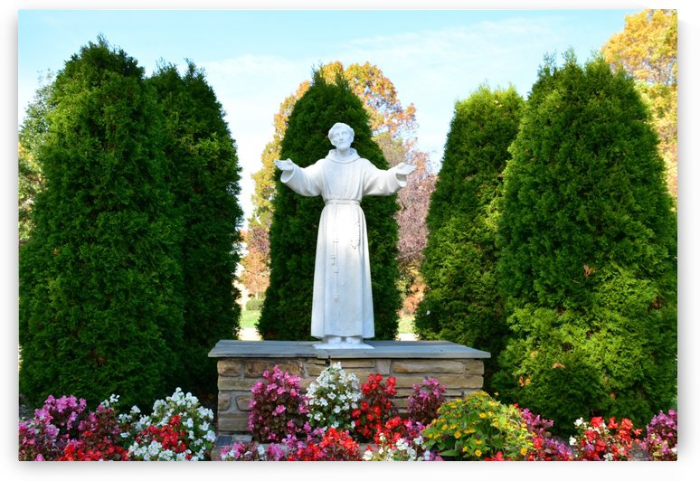 Saint Francis of Assisi Print by Katherine Lindsey Photography