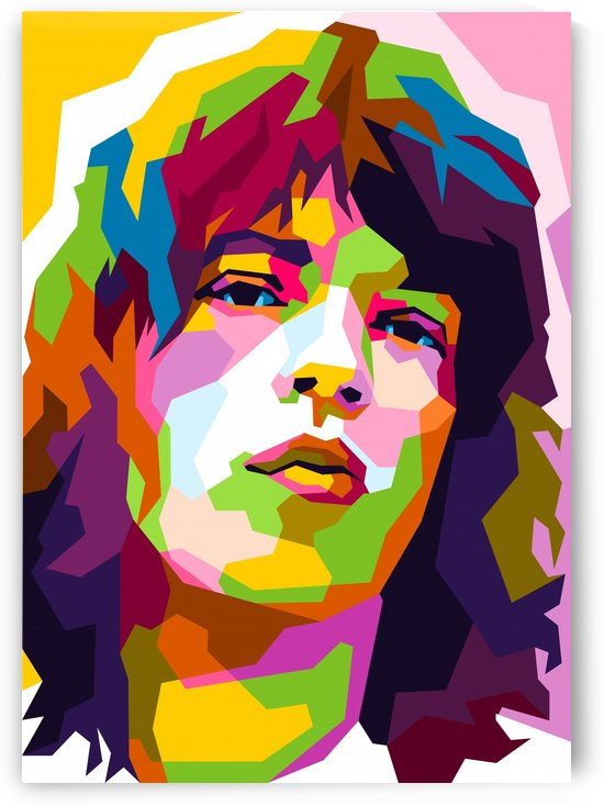 Mick Jagger by wpaprint
