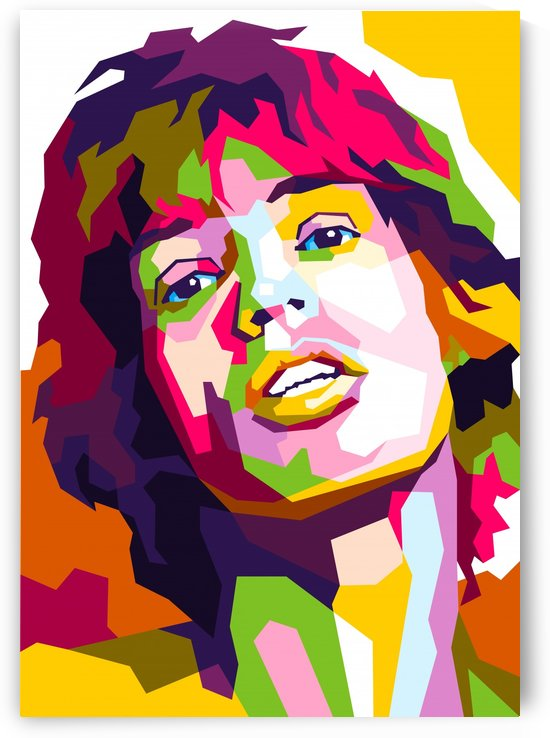 Mick Jagger by wpaprint
