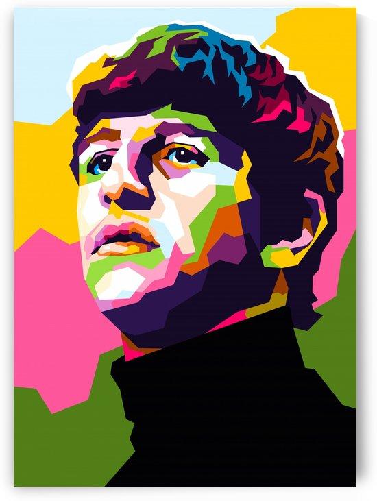 Ringo Starr by wpaprint