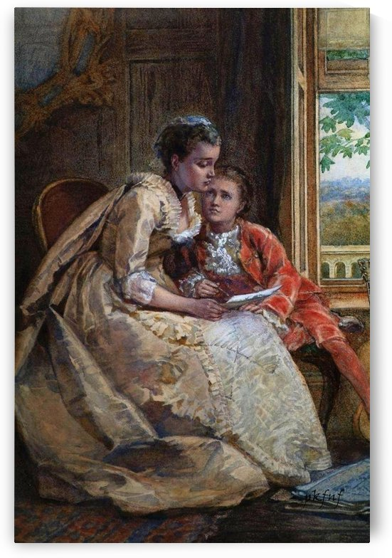 The Letter by Edward Antoon Portielje