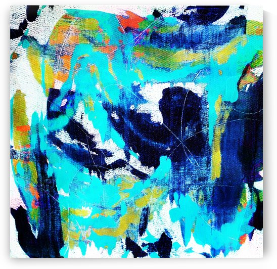 Abstract Ikat by Connie Schofield Art