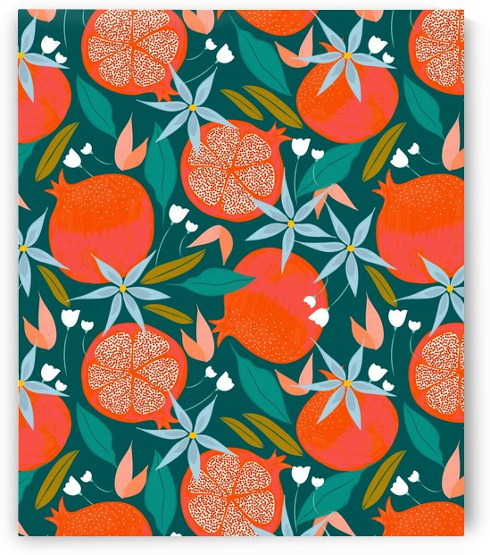 Summer Pomegranate by 83 Oranges