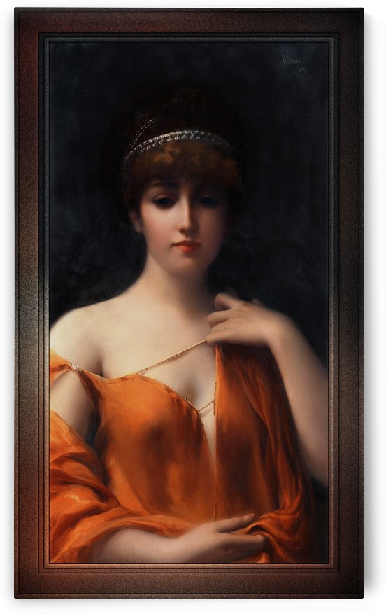 A Classical Beauty by Luis Ricardo Falero Fine Art Old Masters Reproduction by xzendor7