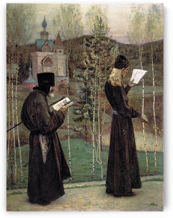 To Blagovest by Mikhail Nesterov