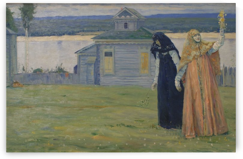 In the Skete by Mikhail Nesterov