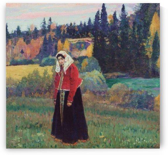 Flenushka by Mikhail Nesterov