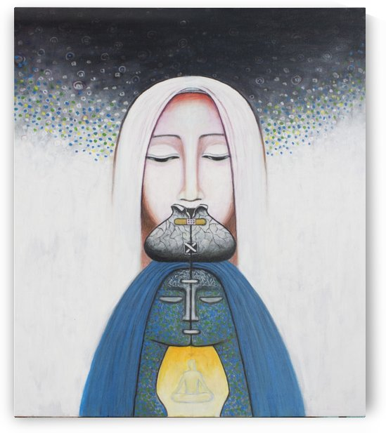 Soul chakra by carolenewmanarts