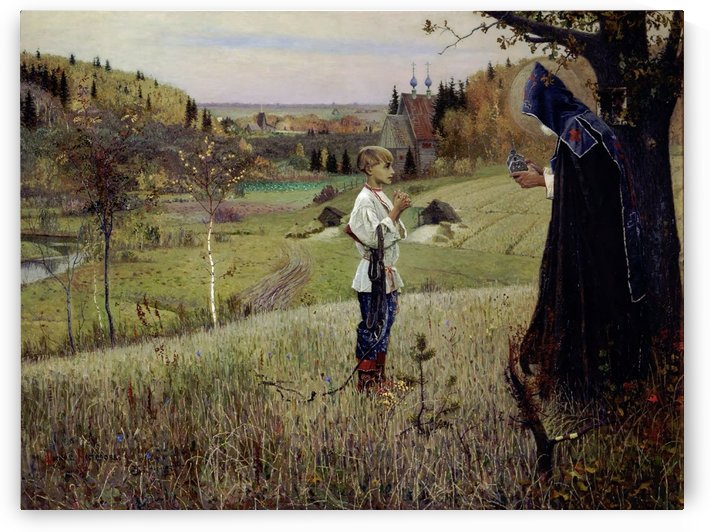 The Vision to the Youth Bartholomew by Mikhail Nesterov