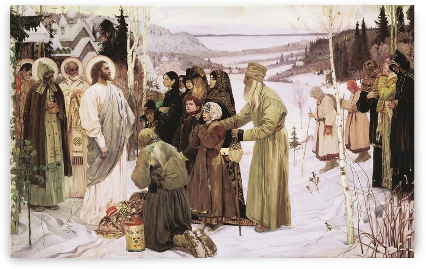 Three Victory Days by Mikhail Nesterov
