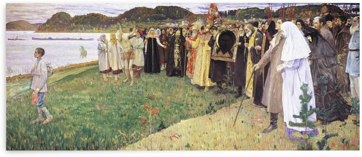 The soul of the Russian people by Mikhail Nesterov