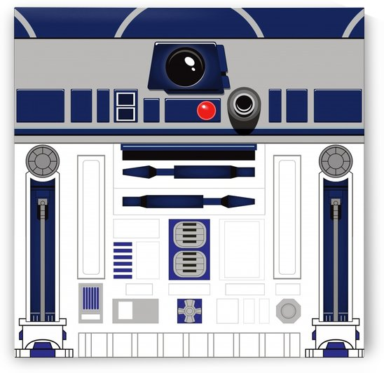 R2d2 pattern by Shamudy
