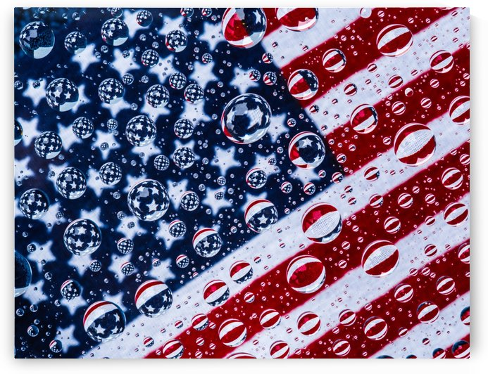 Red White and Blue by John Moore