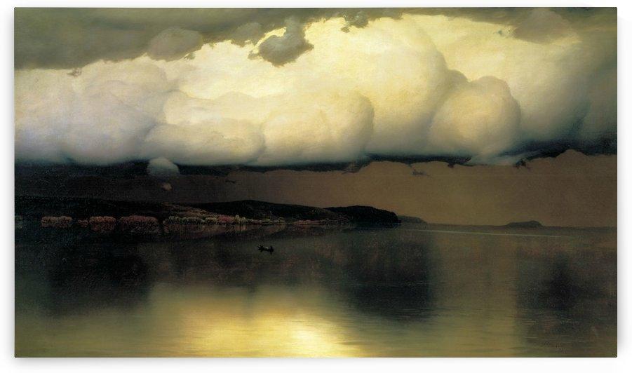 Silence by Mikhail Nesterov