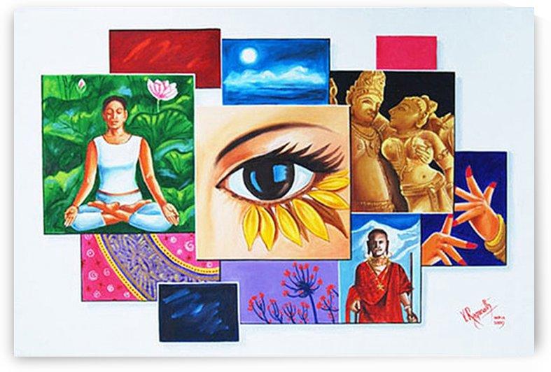 THE ART OF EXPRESSION by RAGUNATH SIDE VENKATRAMAN