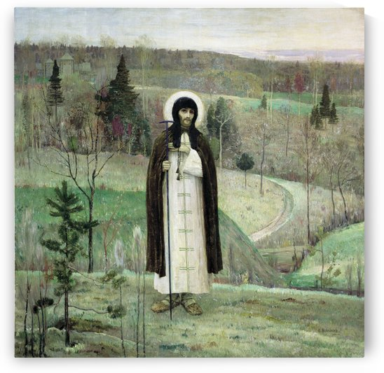 Venerable Sergius of Radonezh by Mikhail Nesterov