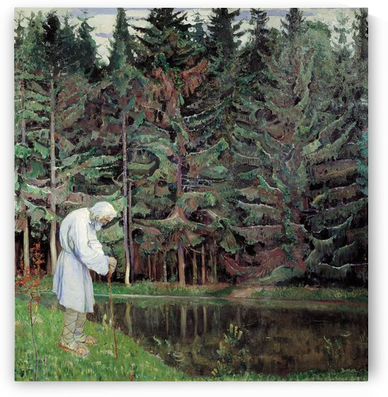 Elder (Abraham, the Servant of God) by Mikhail Nesterov