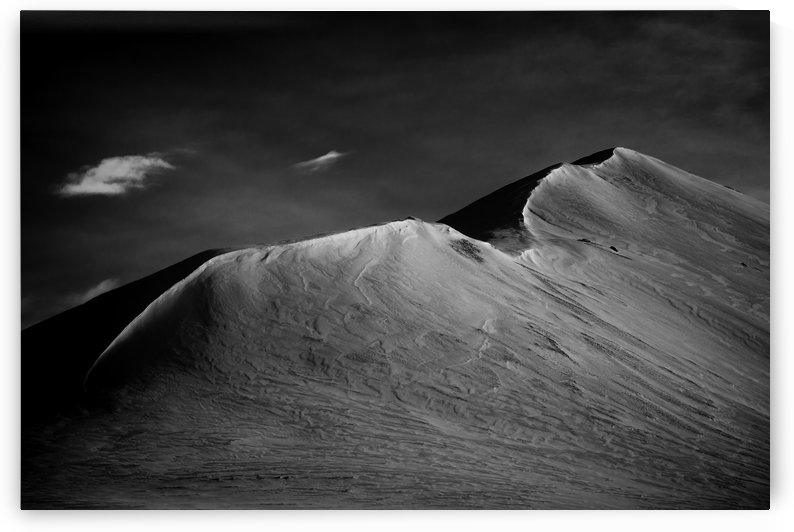 Iceland Mountain Top by Dan Fleury
