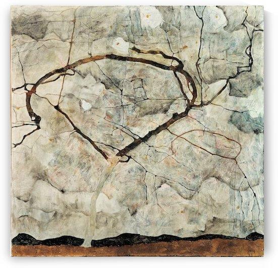 Egon Schiele - Winter Tree by Egon Schiele