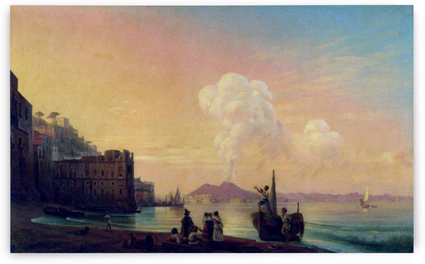 Bay of Naples by Ivan Aivazovsky
