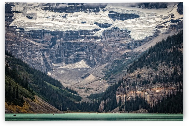 Thin Blue Line Lake Louise by Dan Fleury
