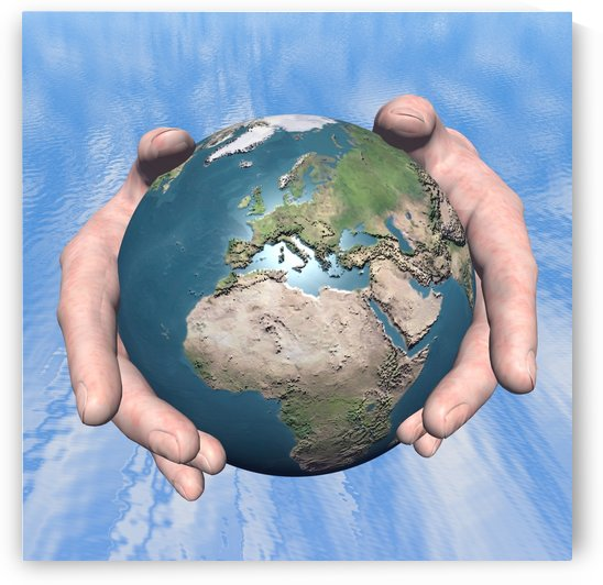 One World by Matthew Lacey