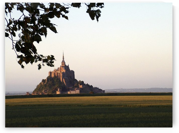 sunset at Mont Saint Michel in Normandy France. by Downundershooter