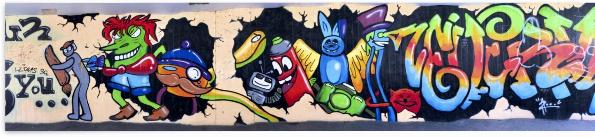 Underpass Creative Graffiti Art II by Swiss Art by Patrick Kobler