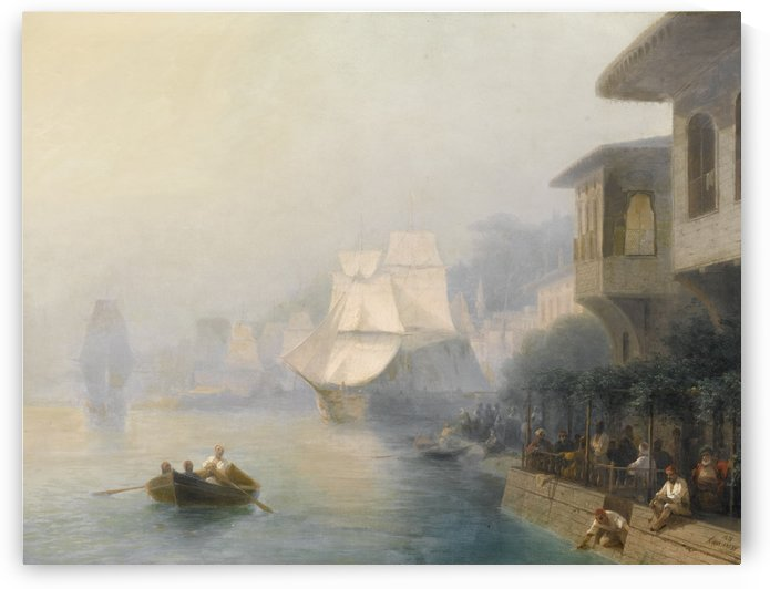 View of the Bosporus by Ivan Aivazovsky