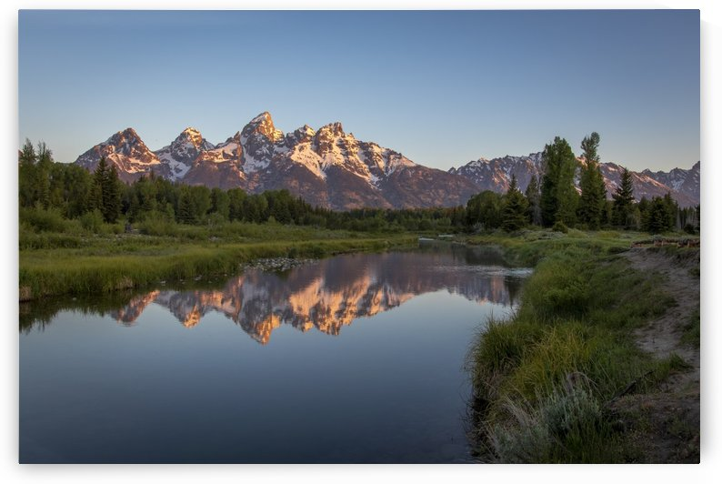 Sunrise in Grand Tetons by Kenny Hill