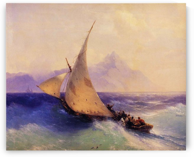 Rescue at Sea by Ivan Aivazovsky