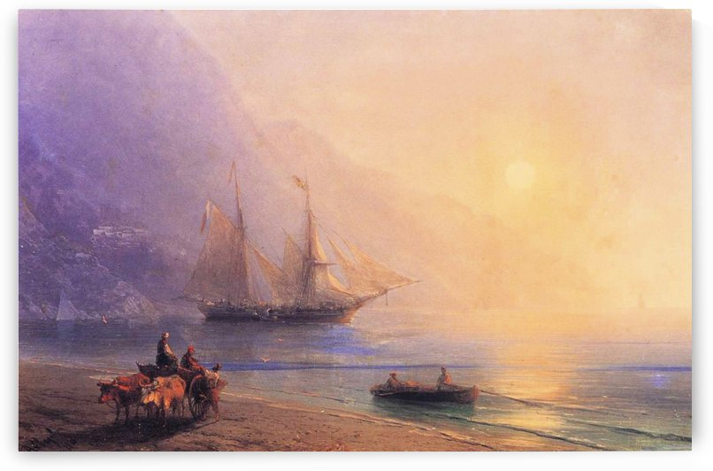 Loading Provisions off the Crimean Coast by Ivan Aivazovsky