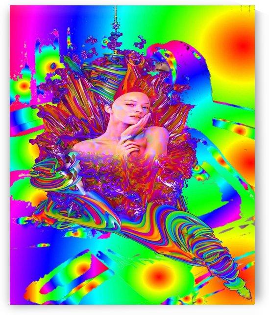 Mermaid Metamophosis by Matthew Lacey