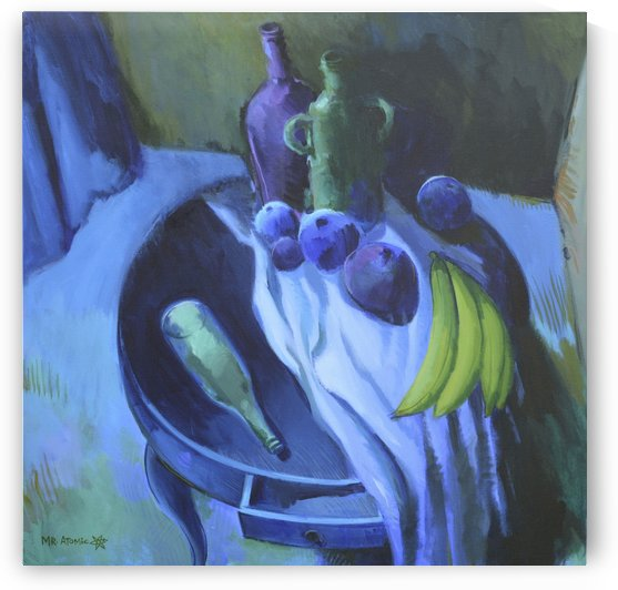 Still Life with Bananas by Mr  Atomic Art