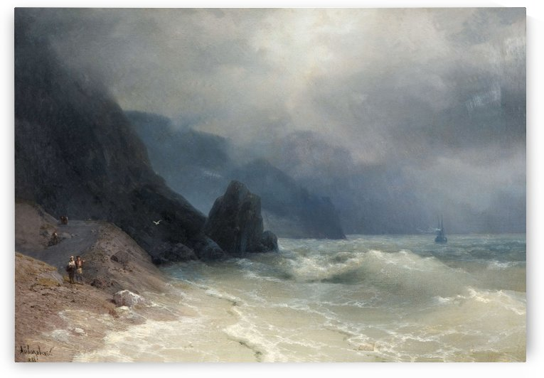 View of the sea by Ivan Aivazovsky