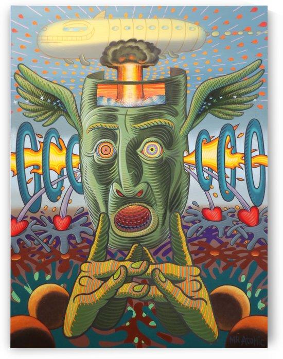 Hidden Self by Mr  Atomic Art