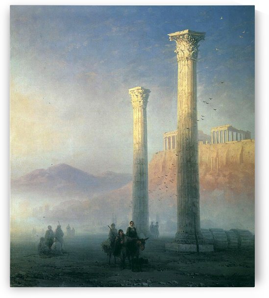The Acropolis of Athens by Ivan Aivazovsky